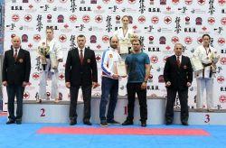 Победа на Чемпионате Кубка России по киокушин