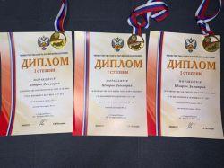 Димитрий Шмарин – чемпион России