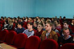 Встреча с деканом факультета математики и компьютерных наук- Сташ Айдамиром Хазретовичем