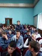 Встреча студентов-юристов с судебными приставами