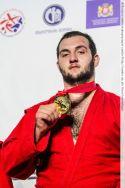Золотая медаль на Чемпионате мира-2018 по самбо