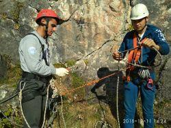 Практические занятия в горах