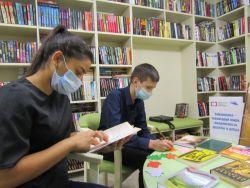 Книжная выставка «Библиотека – территория мира, толерантности, дружбы и добра»