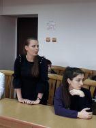 Встреча студентов со специалистом органов опеки и попечительства