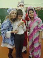 Студенты поздравили детей из коррекционной школы №12 с Новым годом